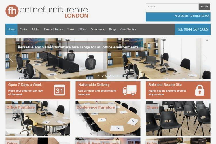 Online Furniture Hire